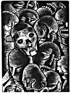 skullswoodcut