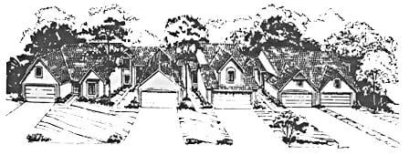 suburb sketch
