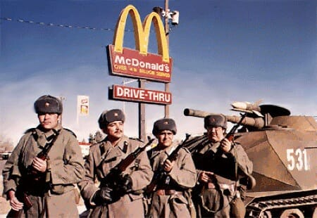 Still from Red Dawn, 1984.