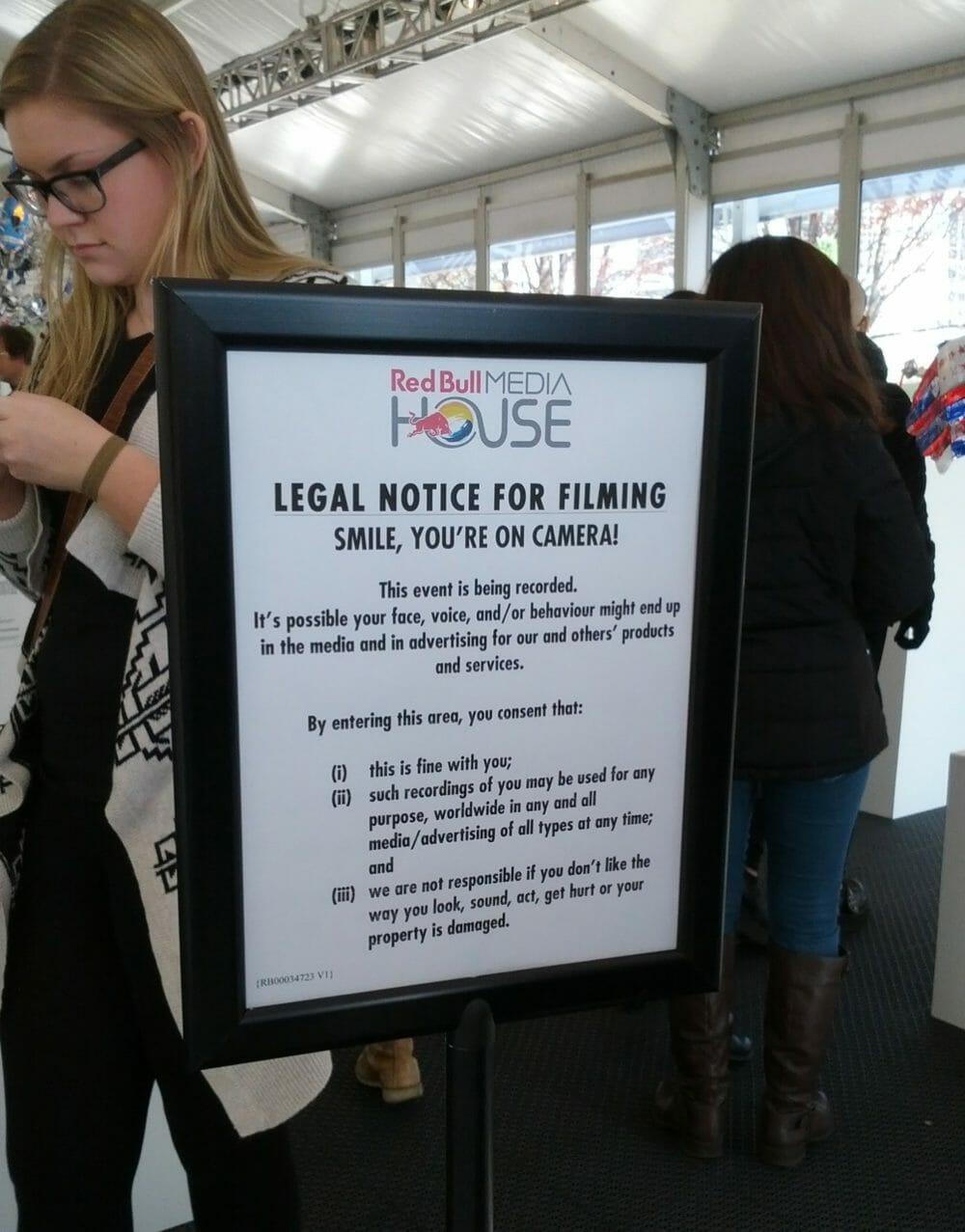 LegalNoticeForFilming