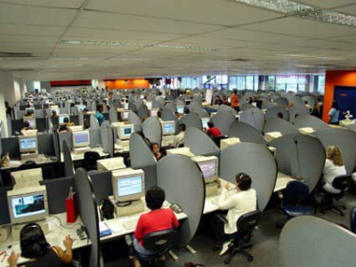 The secret to solving inequality in America is...a call center? / Photo by Vitor Lima