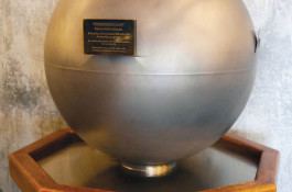 """""""Tomorrow's Past"""" time capsule at Griffith Observatory in Los Angeles."""