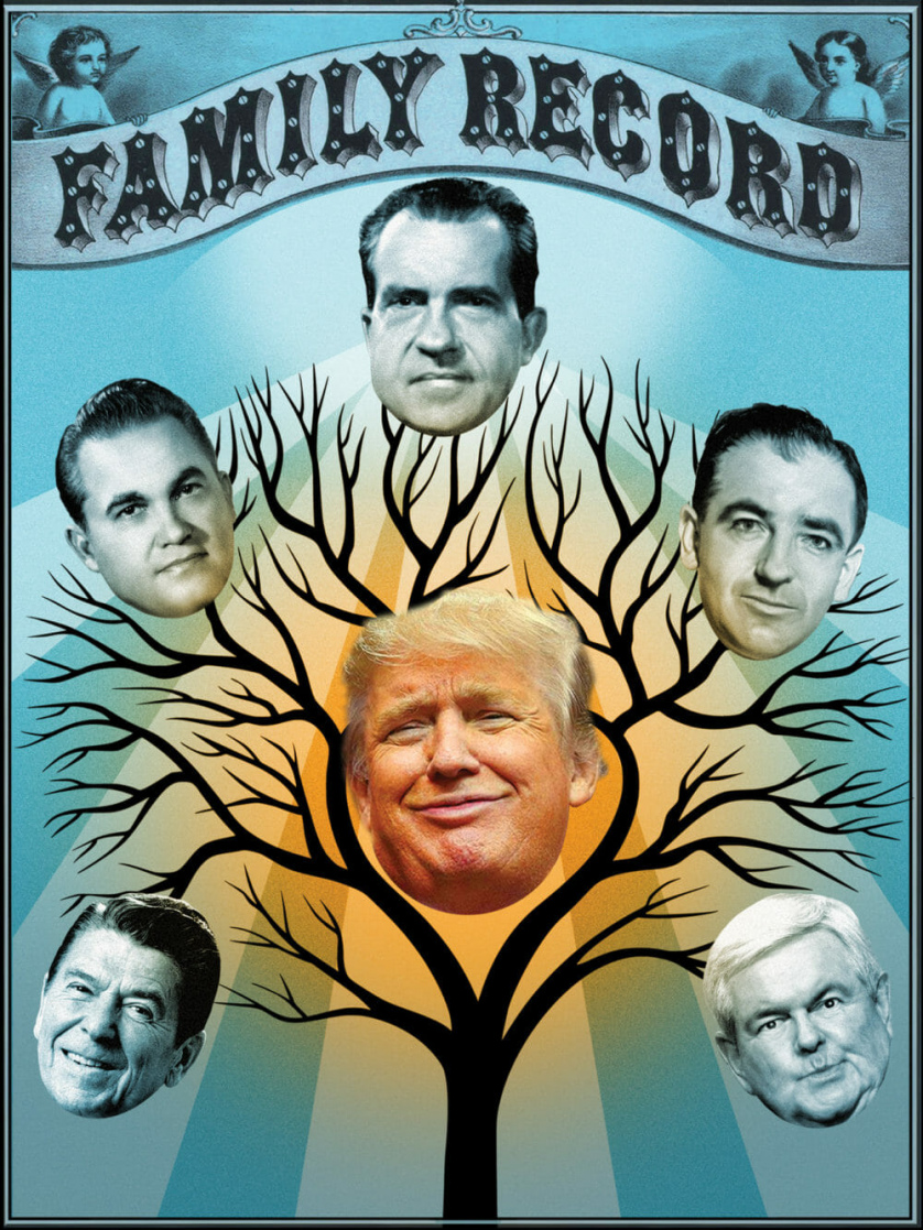 The Republican family tree.
