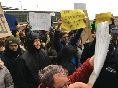 JFK Airport Rally