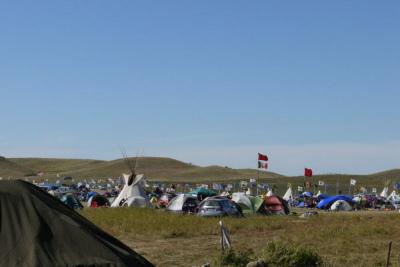 Standing Rock tents
