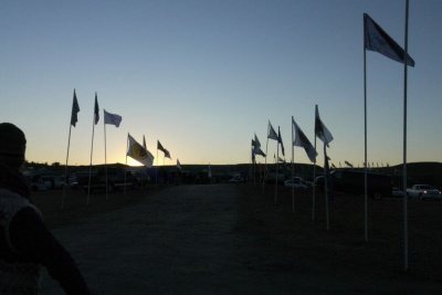 Standing Rock Flags